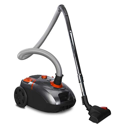 AGARO Storm 2000 Watts Vacuum Cleaner with Powerful 24 kPa Suction Power, Dry vacuuming, 4 litres dust Bag (Black)