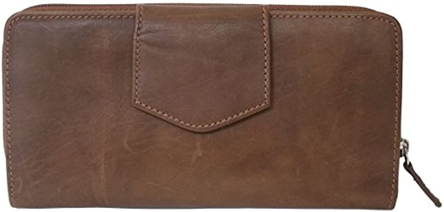 Ili Leather 7410 Checkbook Wallet with RFID Blocking