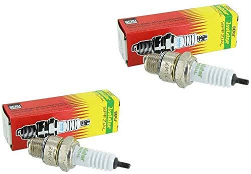 2 BERU Zündkerzen Isolator M14-260 0,4 mm für Simson und MZ