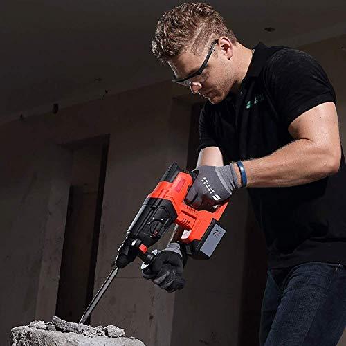Dmqpp accu-boormachine met hamer, multifunctioneel, oplaadbaar, 21 V, elektrisch licht en hamer, compact en krachtig