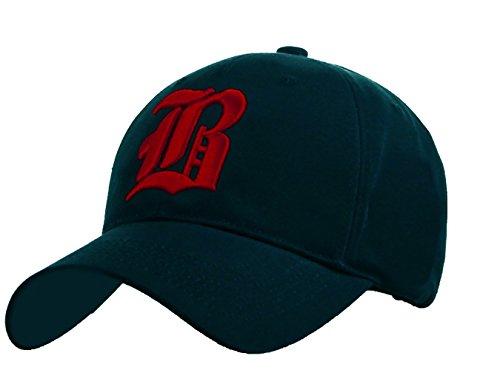 4sold baseballpet voor dames en heren, gothic letter B, hoeden voor snapback back hoeden fanny