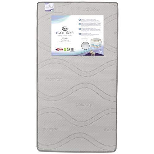Serta iComfort Mirage Firm Foam Crib and Toddler Mattress - Multi
