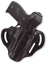 Galco Cop 3 Slot Holster for S&W 4006 (Black, Right-Hand)