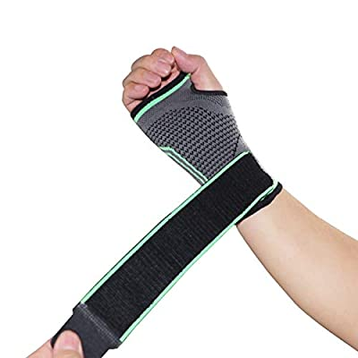 Carpal Tunnel Wrist Brace, for Carpal Tunnel Syndrome, Wrist Pain/Strain, Fatigue and Arthritis, Wrist Brace Men and Women, Adjustable Strap, Suitable for Left and Right Hands Support Sleeves (Large)