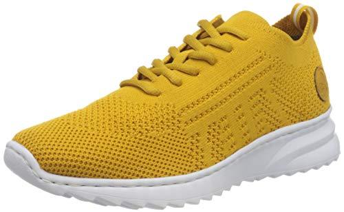 Rieker Damen N60K5 Sneaker, senf/Honig 68, 38 EU