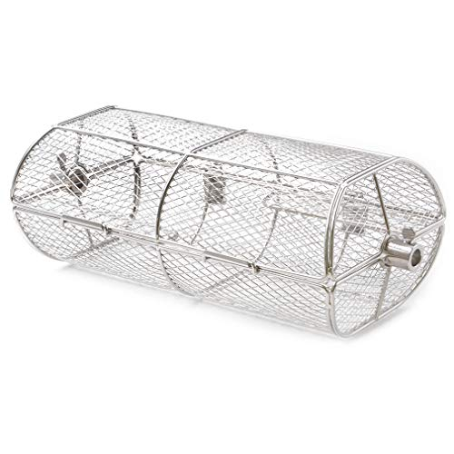 only fire Universal Rotisserie Grill French Fries Basket Fits for Any Gas Grill or Other Ceramic Grills