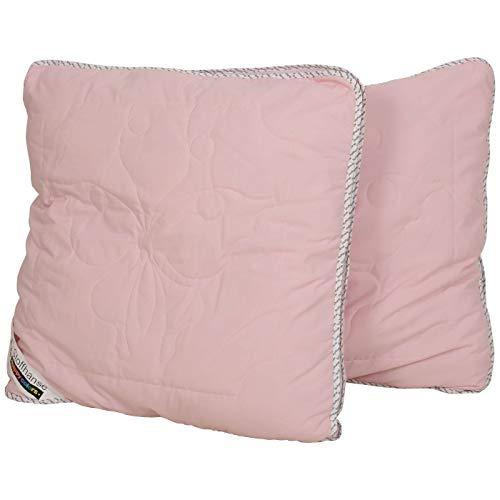 Stoffhanse Kissen 80 x 80 cm, 2-teilig, rosa | Bettwaren | Kopf-Kissen | nach Öko-Tex Standard