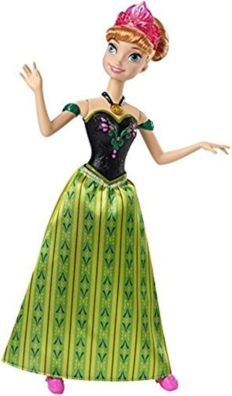 Disney Frozen Singing Anna Doll by Mattel