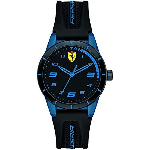 Ferrari Reloj Analógico para Hombre de Cuarzo con Correa en Nylon 830622