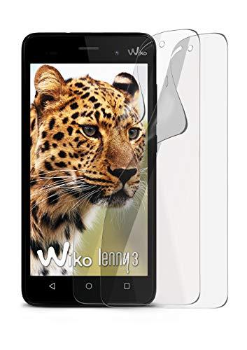 MoEx® Matte Anti Reflex Bildschirmschutzfolie passend für Wiko Lenny 3   Gegen Reflexionen und Fett-Finger - Entspiegelt