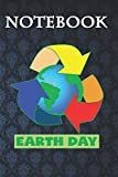 Composition Notebook, Journal Notebook: Recycle Earth Day Recycling Reduce Reuse Waste Logo 6'' x 9'', 100 Pages, Soft Cover, Matte Finish A Cute Wonderful Gift for Kids or Men & Women