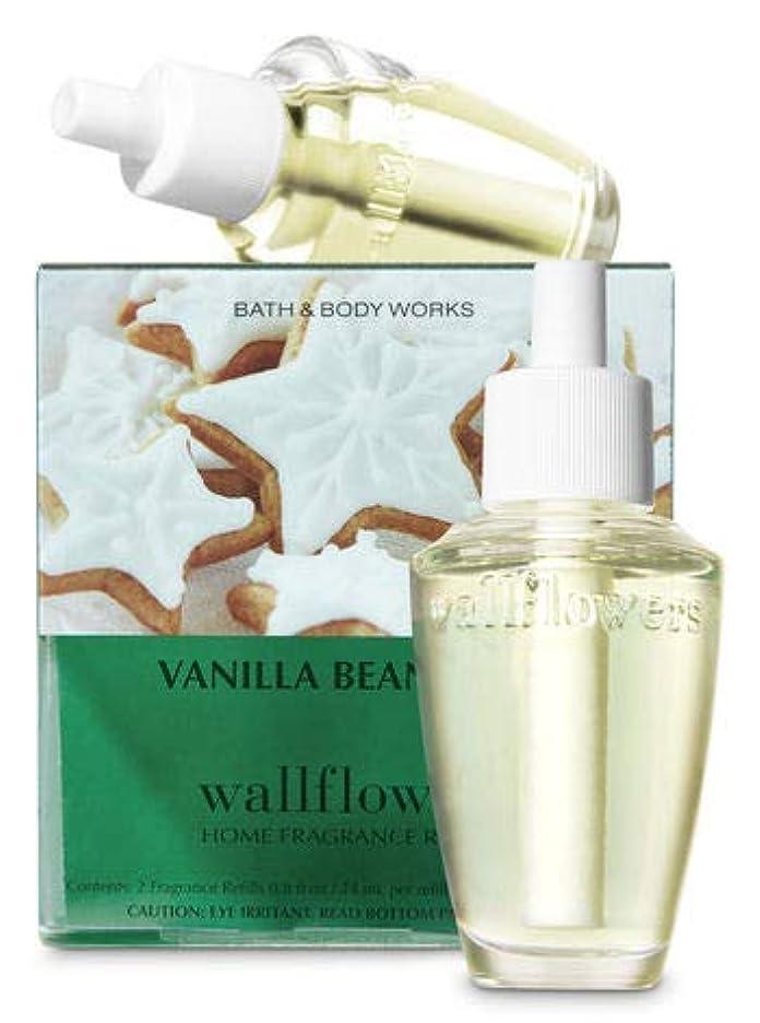 理容師敬意悩む【Bath&Body Works/バス&ボディワークス】 ルームフレグランス 詰替えリフィル(2個入り) バニラビーンノエル Wallflowers Home Fragrance 2-Pack Refills Vanilla Bean Noel [並行輸入品]