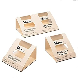 Victor Roach & Insect Traps & Monitor - 75 Units (150 Traps)