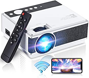 Wevivi 1080p HD 4500-Lux Portable Mini Projector