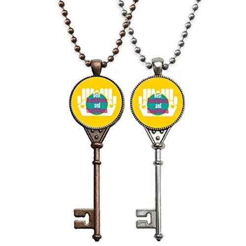 OFFbb-USA Schlüsselanhänger für Lehrer mit Schlüsseln, für Thanksgiving, tolles Geschenk