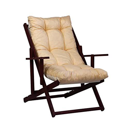 TECNOWEB Cuscino Imbottito per Poltrona Sdraio Relax (115x55x12cm) - 100% Made in Italy - Ricambio Ideale per Interni ed Esterni (Giardini, Cortili, terrazzi) - Disponibili Diversi Colori