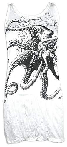 Sure Damesdrager mini jurk - De grote kraken Octopus