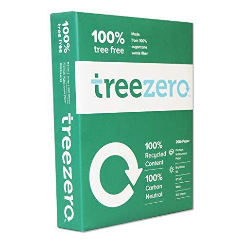 Tree Zero Copy Paper, 20lb, 8.5