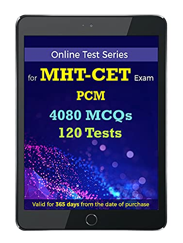 MHT CET PCM Online Test Series | Practice 4080 MCQs | Chapterwise, Topicwise Questions and Model (Mock) Tests with Solutions | Physics, Chemistry, Maths (Email delivery in 2 Hours- no CD)