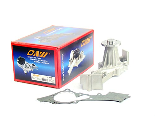 OAW N1610 Engine Water Pump for 96-00 Nissan Pathfinder, 00-04 Xterra, 99-04 Frontier & 97-00 Infiniti QX4 VG33E V6 3.3L