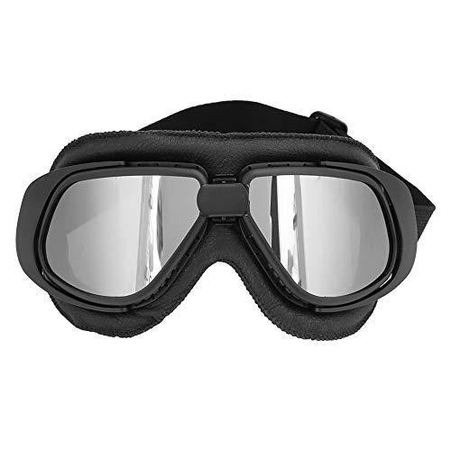 KIMISS Motorcycle ABS Supplies Gafas de moto Gafas Gafas Ciclismo Gafas de moto Gafas de exterior(negro)