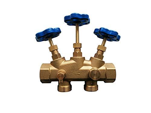 """Montageblock 1"""" Zoll Wasserenthärtungsanlage ✓ Wasserentkalkungsanlage ✓ Entkalkungsanlage ✓ Wasserenthärtung ✓ Entkalkung ✓ Probeentnahme"""