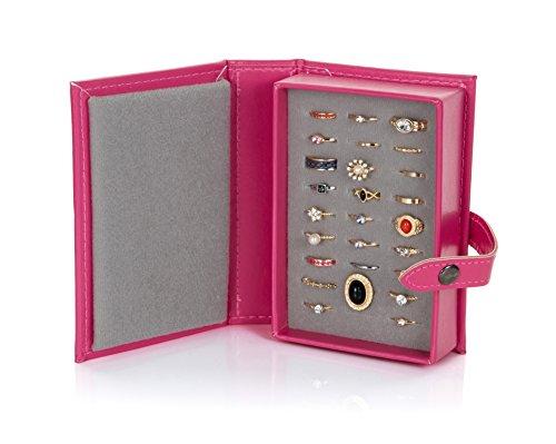 Little Book Of Aufbewahrungsbox für Ringe, rose, Travel