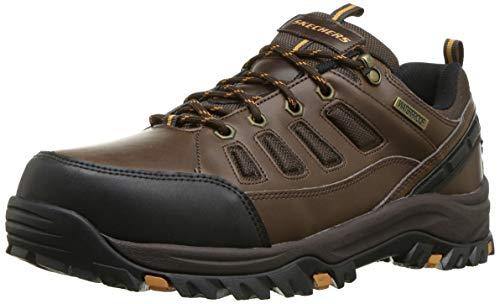 Skechers Males's Relment-semego Waterproof Hiker Lo Hiking Shoe thumbnail