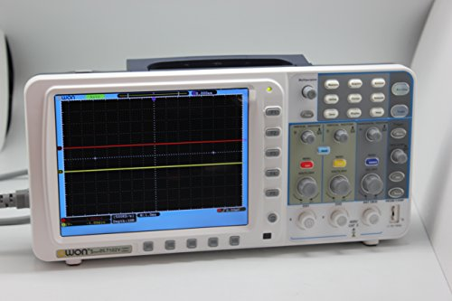 New Owon 100MHz Oszilloskop Sds7102V 1g / s Große 8