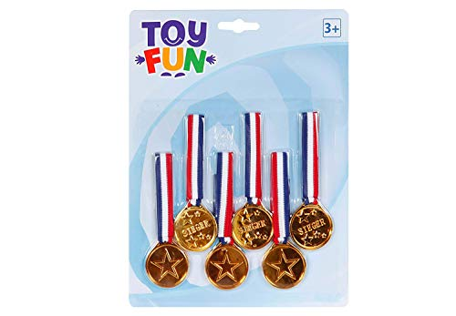 Toys of Fun Medaillen am Band,6 Stck,W190xH250mm