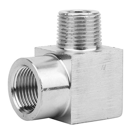 Conector de codo Conector rápido Conector reductor sin fugas para tuberías(3/8')