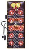 CYQ Colchoneta de Masaje para Todo el Cuerpo, Manta de Masaje para el hogar, masajeador de Columna Cervical, cojín de Masaje Multifuncional para el Cuello, la Cintura y la Espalda