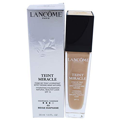 Lancôme Teint Miracle Bare skin Foundation SPF15, 03 Beige Diaphane, 1er Pack (1 x 30 ml)