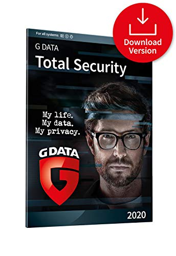 G DATA Total Security 2020   1 Device - 1 Year Full Protection   Cloud   Windows, Mac, iOS & Android   Download Code
