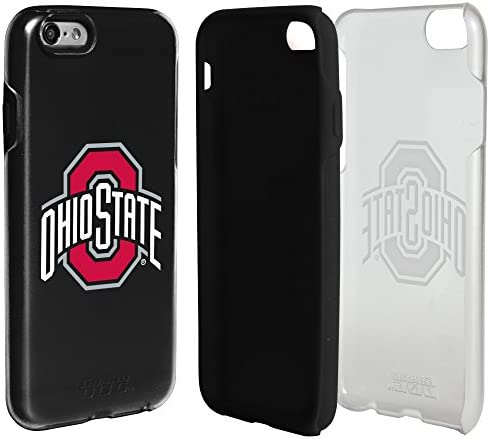 Guard Dog Ohio State Buckeyes Clear Hybrid Case for iPhone 6 6s with Black Insert product image
