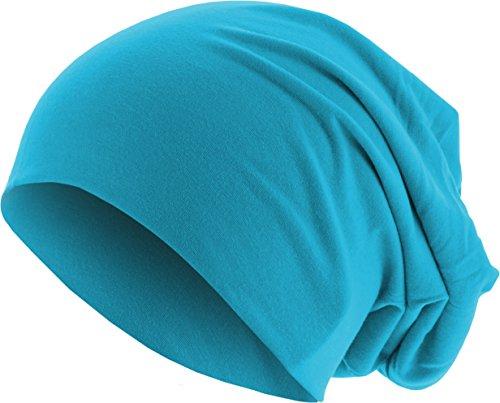 MSTRDS Jersey Beanie Bonnets en Mailles, Türkis (Turquoise 3415), Taille Unique Femme
