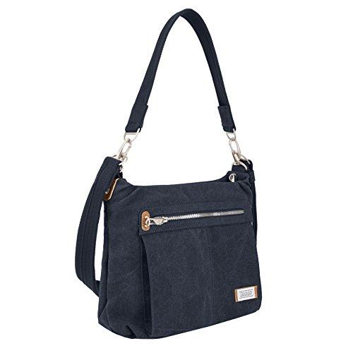Travelon Anti-Theft Heritage Hobo Bag, Indigo