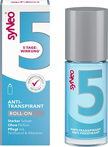 syNeo 5 Anti-Transpirant, Anti-Perspirant Unisex Roll-On, 1er Pack (1 x 50ml)
