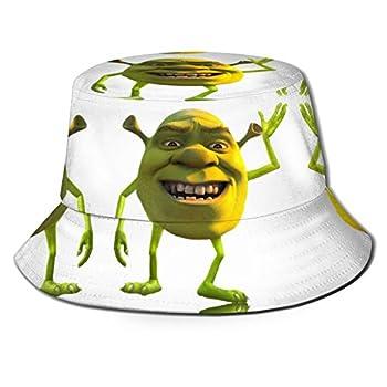Shrek Wazows-Ki Unisex Bucket Hat Summer Travel Beach Sun Hats Outdoor Cap