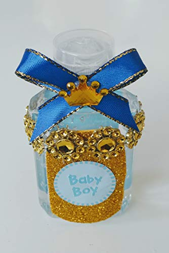 Its A Boy! Hand Sanitizers With Clip To Go Baby Shower Party Favor Set Of 12