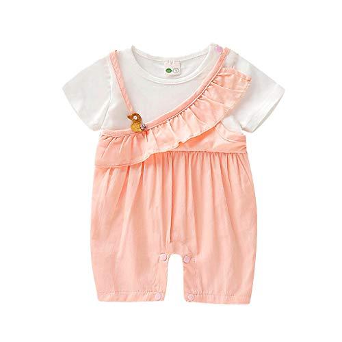 Mädchen Kleider Festlich, Weant Baby Kleidung Mädchen 0-6 Monate 2pcs Outfits Rüschen Bowknot Sets Kleider FüR Kinder Mädchen Kleidung Partykleid Chiffon Kleid Baby Tägliche Kleidung Pullover