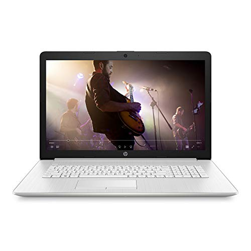 HP 17-inch HD+ Laptop, AMD Athlon Gold 3150U, 4 GB RAM, 1 TB HDD, DVD-Writer, Windows 10 Home (17-ca2020nr, Natural Silver), 17.3 inches