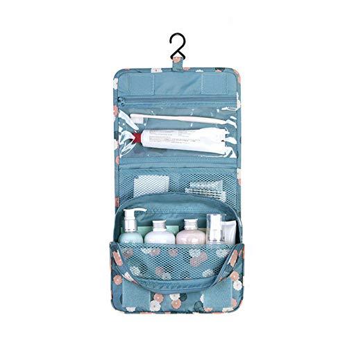 GQFGYYL Bolsa de Maquillaje PortáTil Bolsas de Almacenamiento de Viaje Colgantes Bolsa de CosméTicos de Belleza de Viaje Impermeable Bolsas de Higiene Personal Organizador de Lavado