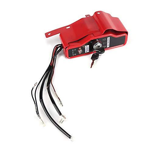 Caja de interruptor de encendido de llave, interruptor de encendido eléctrico y...