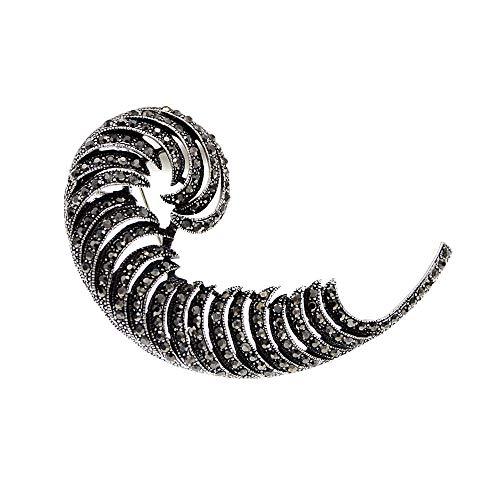 GLKHM Broche Huesos Broches De Plumas Mujer Vintage Pin Broche Accesorios