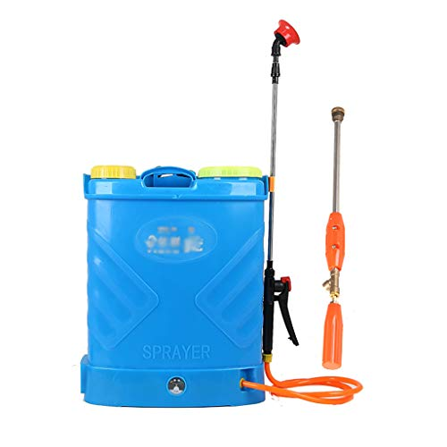 PWQ Pulverizador Eléctrico de 20L, Pulverizador de Pesticidas con Mochila de Batería de Litio, Utilizado para la Pulverización de Pesticidas, Desinfección de Lugares Públicos, etc. (8АH / 14АH