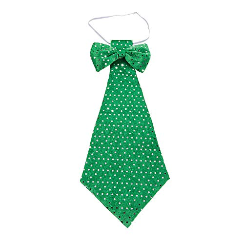 Fun Express - St Patricks Day Oversize Tie for St. Patrick's Day - Apparel Accessories - Costume Accessories - Misc Costume Accessories - St. Patrick's Day - 1 Piece Green