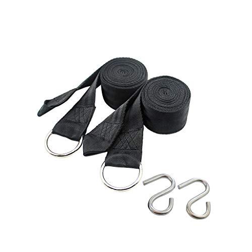 Sièges balançoires Hamac extérieur attaché arbre corde hamac sangle avec boucle de sécurité swing kit suspension s crochet Ensemble de balançoire pour aire de jeux