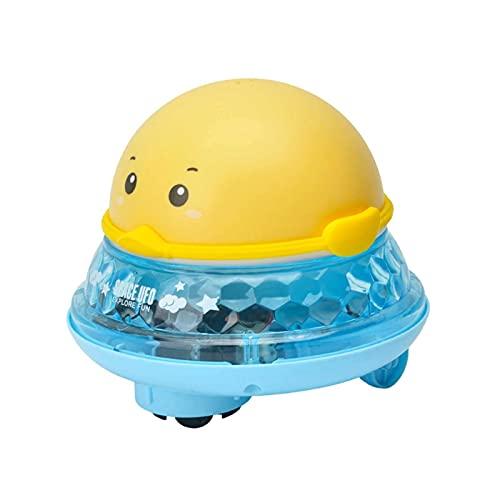 Wfeihong Baby Bath Toys, Cute Cartoon Water Spray Toys Automatic Spray Water Bath Toy with LED Light, Induction Sprinkler Bathtub Shower Toys Bathtime Fun Toys for Kids