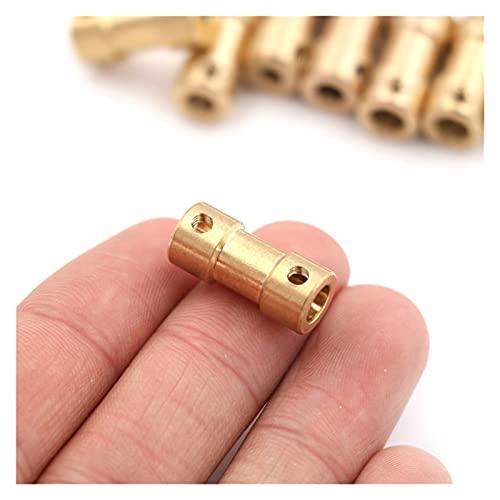 Basic Cellphone Cases Cnc Parts - Acoplador flexible de latón para conector de transmisión de motor (diámetro interior: 2 mm, 5 mm, A4)